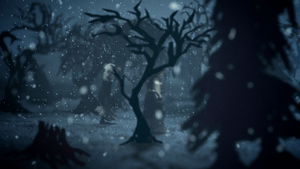 Wildpath's BURIED MOON music video still - Chase by pippa-hynelin
