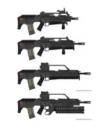 H and K bullpup series by dukeleto