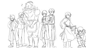 FMA: Nyotai doodle by qianying