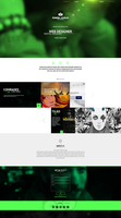 web design - Fishbein Bogdan by Shizoy
