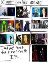 X-over Couples part 2 by Dragonprince18