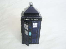 Printable Tardis Candy Box by Gaddia