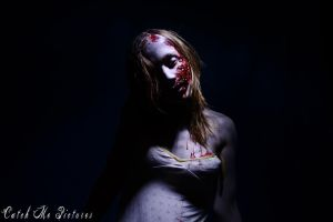 sexy zombie by CatchMePictures