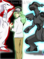 Pokemon Black and White by candy-behemoth