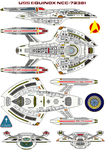 USS Equinox NCC-72381 by bagera3005