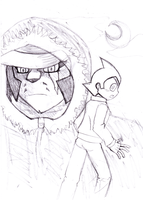 Astro boy comic remake chapter 2 sketch by moshimo