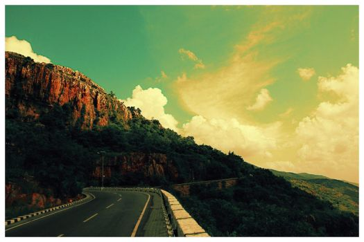 Road to Tirupati by n4bi1