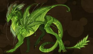 Cannabis Draconis by Aria-Siaosi