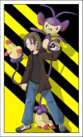 Gonzaa and ambipom