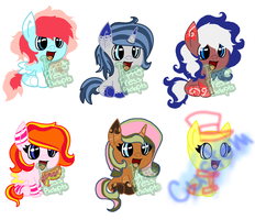 Shipping foal Adopts CLOSED by PuppyPress-Adopts