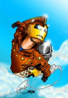 The Rocketeer! by J-Skipper