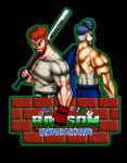 Alex(Kunio) and Ryan(Riki) by BRAINandFAT