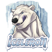 Iceleron conbadge by Rhandi-Mask