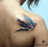 swallow by tattoozone