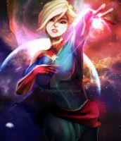 005. Captain Marvel by jTeri
