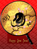 Exoro Choice's 2013 Chinese New Year Cards 09 by ExoroDesigns