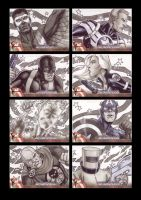 Captain America Sketchcards 2 by Guy-Bigbelly