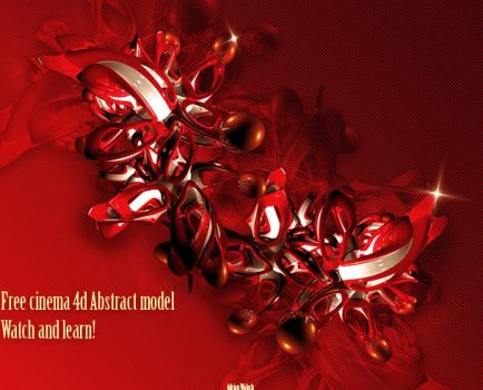 Free Cinema4d Abstract Model by LogitechAdrian