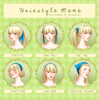 Eurydice's Hairstyle Meme by lacelazier