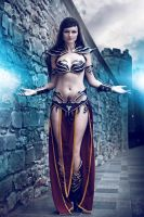 Dark Elf Sorceress Warhammer Cosplay by Captain-Izzy-Cosplay