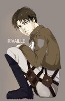 SNK-Rivaille by kimchinicky