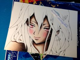 Wip: Inori Yuzuriha ([ Guilty Crown]) by Rayckro