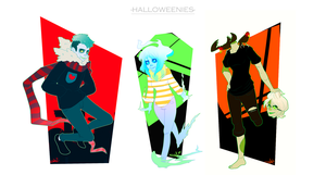 Halloweenies by tabby-like-a-cat