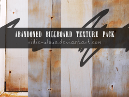 Abandoned Billboard Pack by ridic-ulous