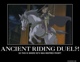 Egyptian Riding duel?! by katerinaaqu