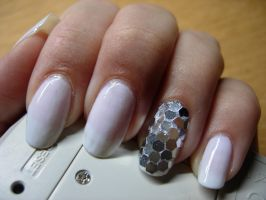 Disco nails by SarahJacky