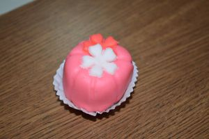 marshmallow gift: Sakuras on pink by Kibu-land