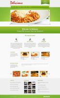 Delicious - Homepage with Nivo by m-themes