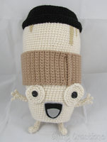 Coffee Cup - Little Inferno Doll by merigreenleaf