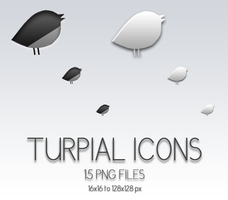 Turpial Icons by gabriela2400
