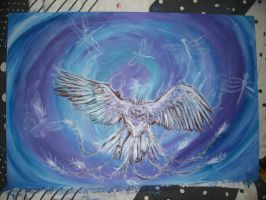 Phoenix commissioned painting, sequel to the last by RealityBitez