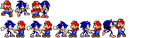 Mario and Sonic by jmkrebs30