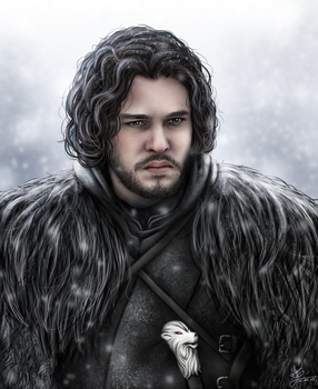 Jon Snow by hello-ground