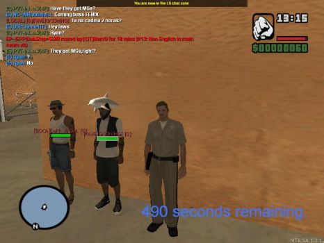 playing Multi Theft Auto: San Andreas by felipe1355