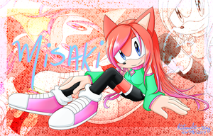 Misaki The Hedgehog by Kitsune-Jay