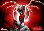 Red Lantern - Bleez by Darkness1999th
