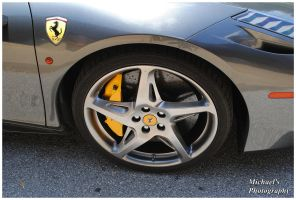 Ferrari 458 Italia's Wheel by TheMan268