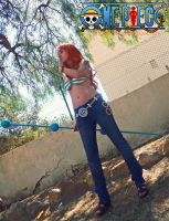Nami New World cosplay by onlycyn