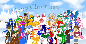 Xmas Picture '09 by Rawr-Grawr
