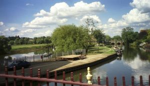 The Two Rivers In Tewkesbury by MagicalCrystal
