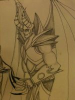 Dreadlord close up by milky0candy