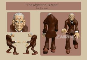 Character Style Sheet: The Mysterious Man by AG-sArt