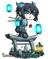 ::chibi comm 4 bellforge:: by rann-poisoncage