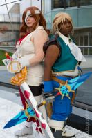 A ragtag team by vicious-cosplay