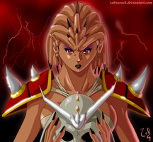 Female Shao Kahn by ZabZarock