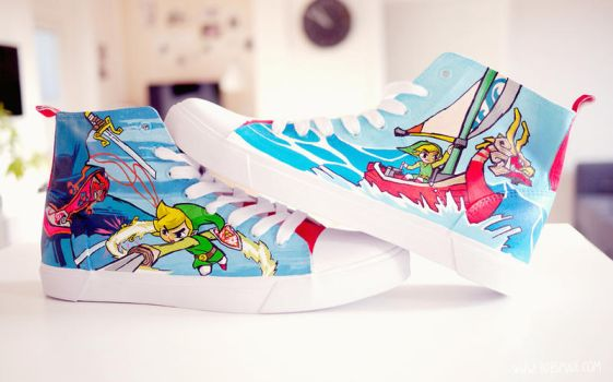 Windwaker Chucks by Bobsmade
